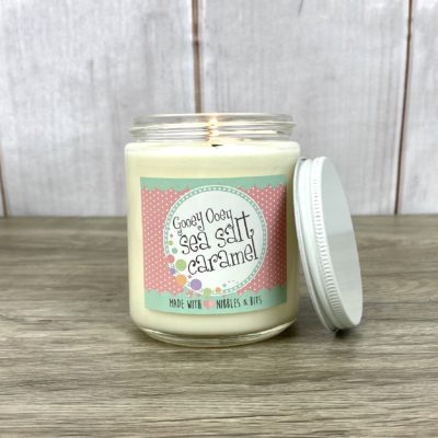 N&B Gooey Ooey Sea Salt Caramel Candle