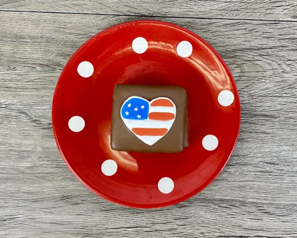 N&B Milk Chocolate Patriotic S'more