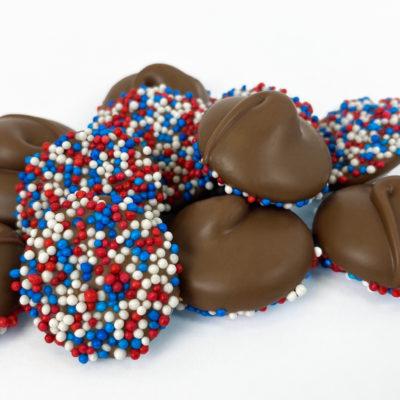 N&B Patriotic Milk Chocolate Nonpareils